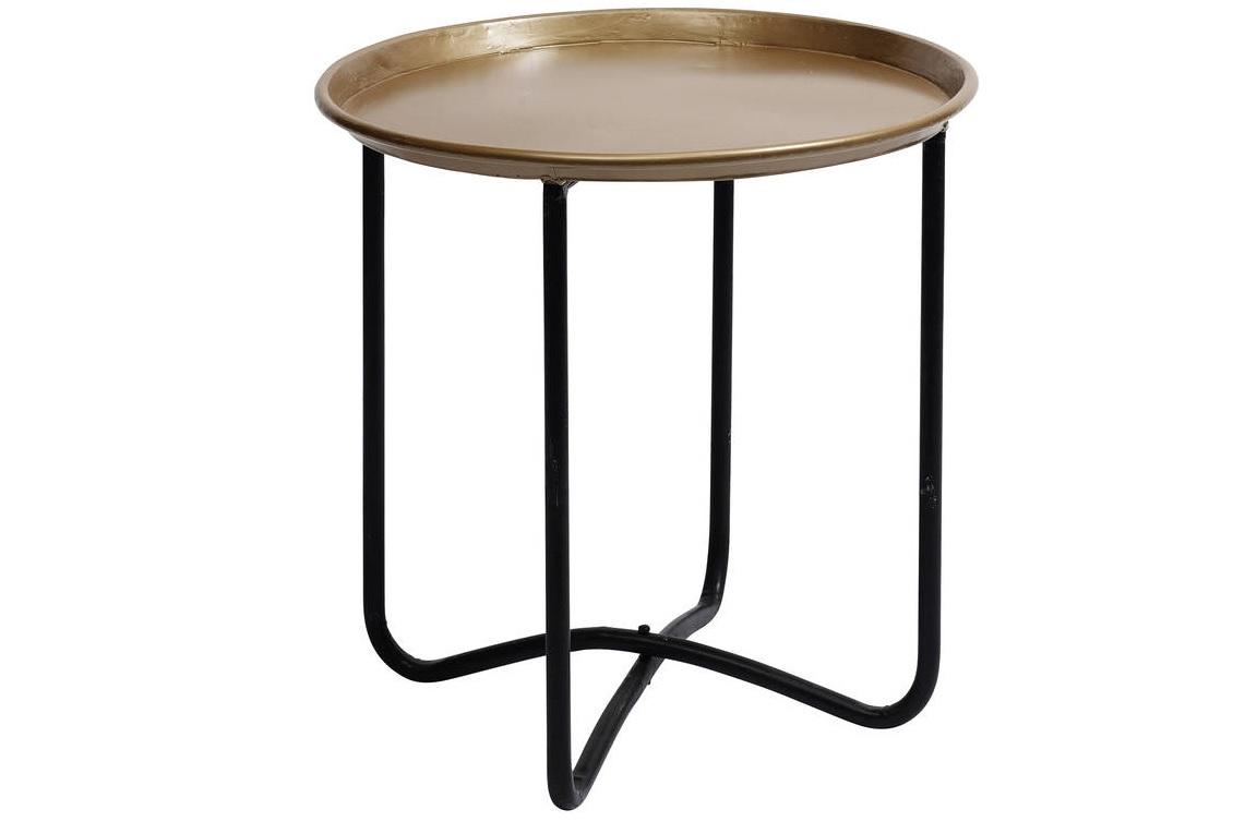Столик MOVE ITКофейные столики<br>Легкий, мобильный столик с удобной столешницей - блюдом цвета шампань.<br><br>Material: Металл<br>Height см: 56<br>Diameter см: 60