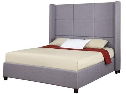 Кровать jillian (ml) серый 183.0x170.0x212.0 см.