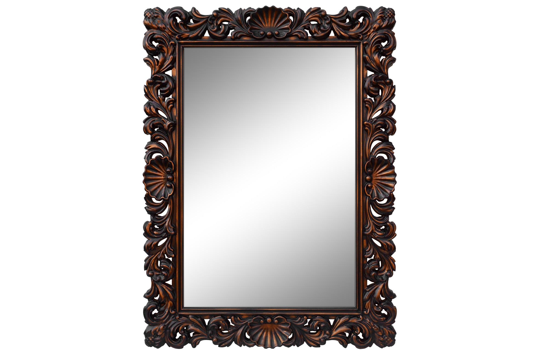 Зеркало РОКОКОНастенные зеркала<br>Зеркало в стиле Рококо будет изюминкой вашего интерьера и будет удивлять и радовать не только вас, но и ваших гостей.&amp;lt;div&amp;gt;&amp;lt;br&amp;gt;&amp;lt;/div&amp;gt;&amp;lt;div&amp;gt;Рама для этого зеркала произведена из высококачественного мебельного пенополиуретана ППУ. Мебельный пенополиуретан (ППУ) является одним из самых распространенных современных материалов для производства мебели и мебельного декора. Формовочный мебельный пенополиуретан ППУ - это высокотехнологичный экологический чистый материал, отличающийся повышенной износостойкостью и долговечностью.&amp;lt;/div&amp;gt;&amp;lt;div&amp;gt;&amp;lt;br&amp;gt;&amp;lt;/div&amp;gt;&amp;lt;div&amp;gt;Рекомендации по уходу: Бережная, влажная уборка. Запрещается использование любых растворителей.&amp;lt;br&amp;gt;&amp;lt;/div&amp;gt;<br><br>Material: Полиуретан<br>Ширина см: 87<br>Высота см: 117<br>Глубина см: 4