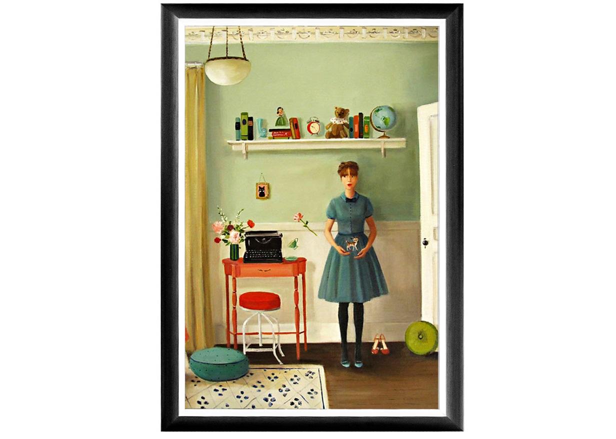 Арт-постер урсула необыкновенная (object desire) мультиколор 46.0x66.0x2.0 см. фото