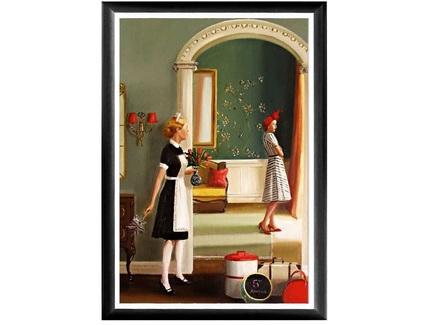 Арт-постер пятая авеню (object desire) мультиколор 46.0x66.0x2.0 см.