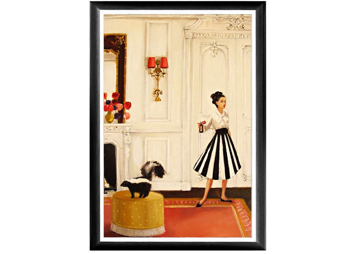 "Object Desire Арт-постер ""Парфюмер Лизетта"""