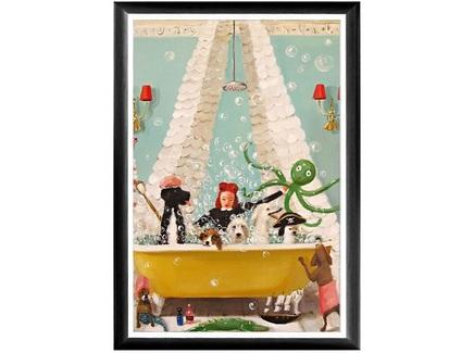 Арт-постер битва пиратов (object desire) мультиколор 46.0x66.0x2.0 см.