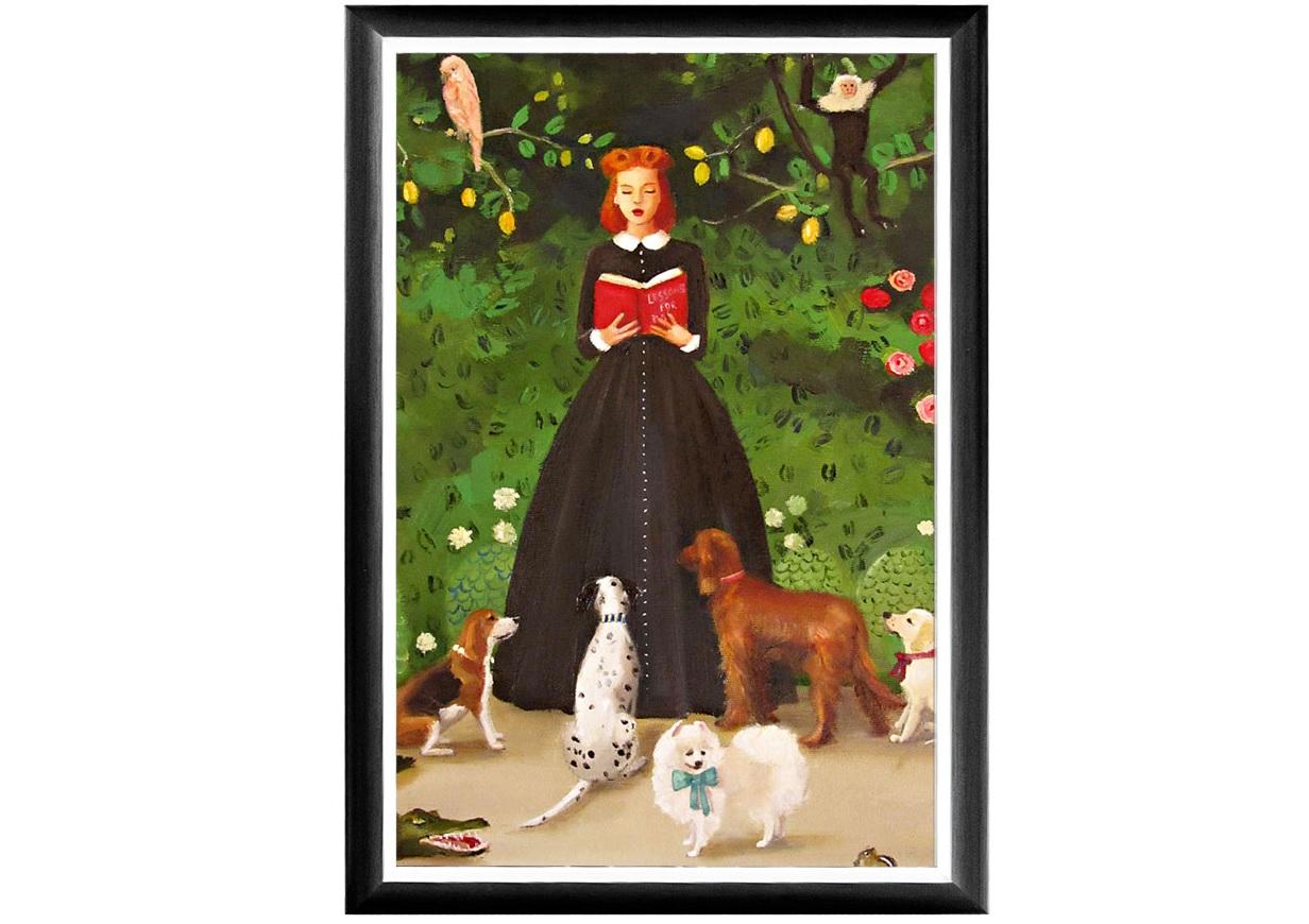 Арт-постер Будьте добры к природеПостеры<br>&amp;lt;div&amp;gt;&amp;lt;div&amp;gt;История арт - работы: Мисс Мун (Луна) работает гувернанткой у достопочтенных юных особ известных собачьих пород. Каждый день она преподает своим воспитанникам важные уроки. Каждый урок познавателен и важен. Урок № 7: «Любите природу, охраняйте природу и будьте ответственны за нее» Строгая грациозная рама выигрышно подчеркнет яркие палитры постимпрессионизма, богатого теплой энергией, позитивными эмоциями и светлым настроением, столь желанными нашей повседневной домашней атмосфере. Классический цвет рамы составит безупречную гармонию прочим дизайнерским аксессуарам.&amp;lt;/div&amp;gt;&amp;lt;div&amp;gt;&amp;lt;br&amp;gt;&amp;lt;/div&amp;gt;&amp;lt;div&amp;gt;Материал: рама - багет из полистирола; защитный слой - прозрачный пластик; профессиональная печать на дизайнерской бумаге.&amp;lt;/div&amp;gt;&amp;lt;/div&amp;gt;&amp;lt;div&amp;gt;&amp;lt;br&amp;gt;&amp;lt;/div&amp;gt;<br><br>&amp;lt;iframe width=&amp;quot;530&amp;quot; height=&amp;quot;360&amp;quot; src=&amp;quot;https://www.youtube.com/embed/MDYV1hT42Qs&amp;quot; frameborder=&amp;quot;0&amp;quot; allowfullscreen=&amp;quot;&amp;quot;&amp;gt;&amp;lt;/iframe&amp;gt;<br><br>Material: Бумага<br>Ширина см: 46<br>Высота см: 66<br>Глубина см: 2