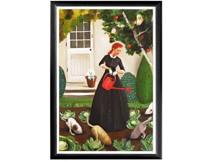 Арт-постер мой огород (object desire) мультиколор 46.0x66.0x2.0 см.