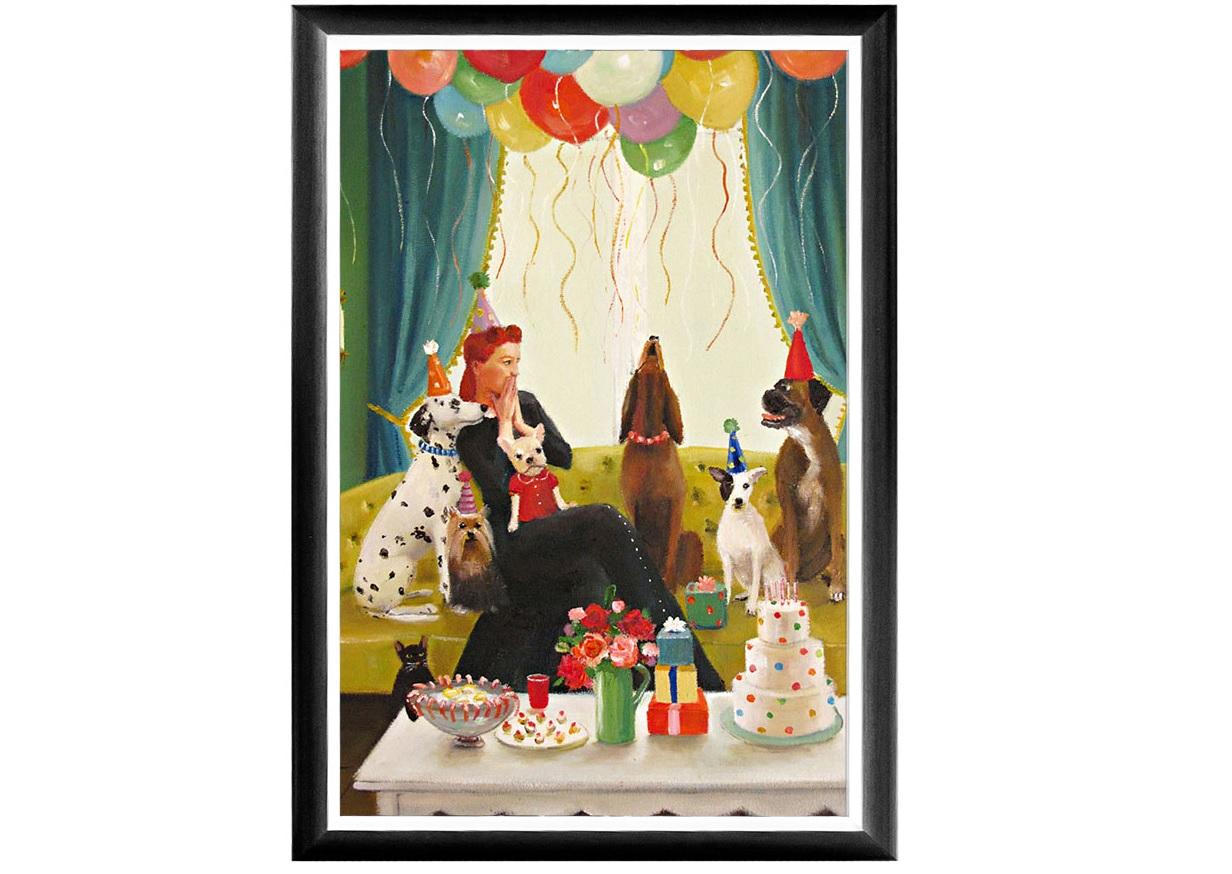 Арт-постер Постановка вокалаПостеры<br>История арт - работы: Мисс Мун (Луна) работает гувернанткой у достопочтенных юных особ известных собачьих пород. Строгая грациозная рама арт-постера «Постановка вокала»  выигрышно подчеркнет яркие палитры постимпрессионизма, богатого теплой энергией, позитивными эмоциями и светлым настроением, столь желанными нашей повседневной домашней атмосфере. Классический цвет рамы составит безупречную гармонию прочим дизайнерским аксессуарам.<br>&amp;lt;div&amp;gt;&amp;lt;br&amp;gt;&amp;lt;/div&amp;gt;&amp;lt;div&amp;gt;Материал рамы - полистирол, защитный слой - прозрачный пластик. Репродукция отпечатана на дизайнерской бумаге.&amp;lt;br&amp;gt;&amp;lt;/div&amp;gt;<br><br>Material: Бумага<br>Width см: 46<br>Depth см: 2<br>Height см: 66