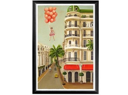 Арт-постер люси (object desire) мультиколор 46.0x66.0x2.0 см.
