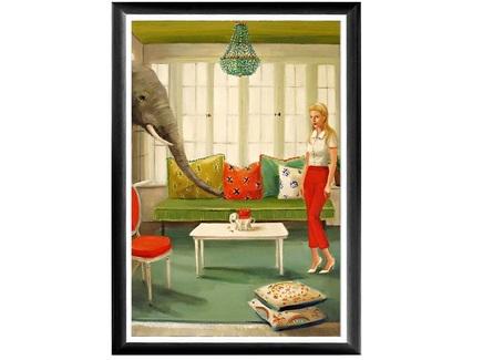 Арт-постер малыш (object desire) мультиколор 46.0x66.0x2.0 см.