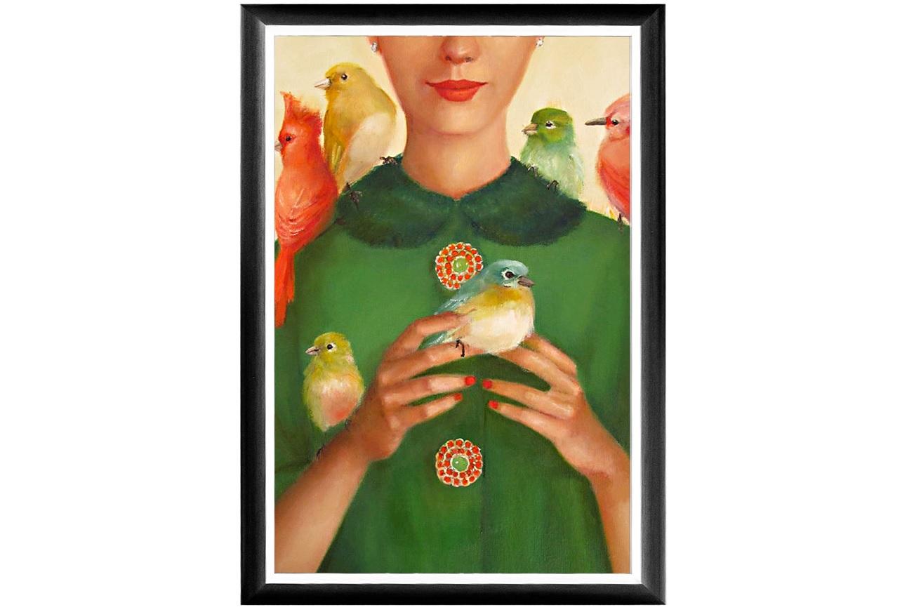 """Арт-постер """"Птицы счастья"""""""