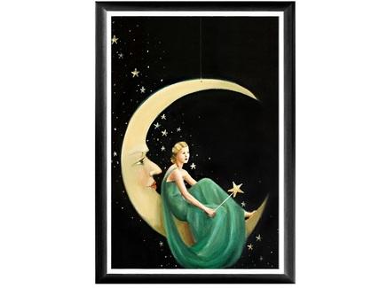"""Арт-постер """"Фиби на луне"""""""