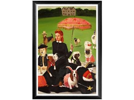 Арт-постер версаль. посиделки (object desire) мультиколор 46.0x66.0x2.0 см.