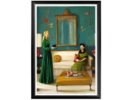 Арт-постер заговорщицы (object desire) мультиколор 46.0x66.0x2.0 см.