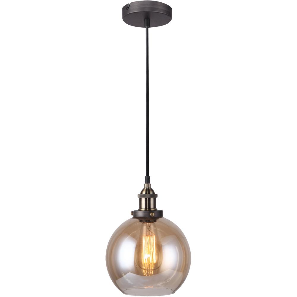 Подвесной светильникПодвесные светильники<br>&amp;lt;div&amp;gt;Вид цоколя: E27&amp;lt;/div&amp;gt;&amp;lt;div&amp;gt;Мощность: 40W&amp;lt;/div&amp;gt;&amp;lt;div&amp;gt;Количество ламп: 1&amp;lt;/div&amp;gt;<br><br>Material: Стекло<br>Height см: 25<br>Diameter см: 20