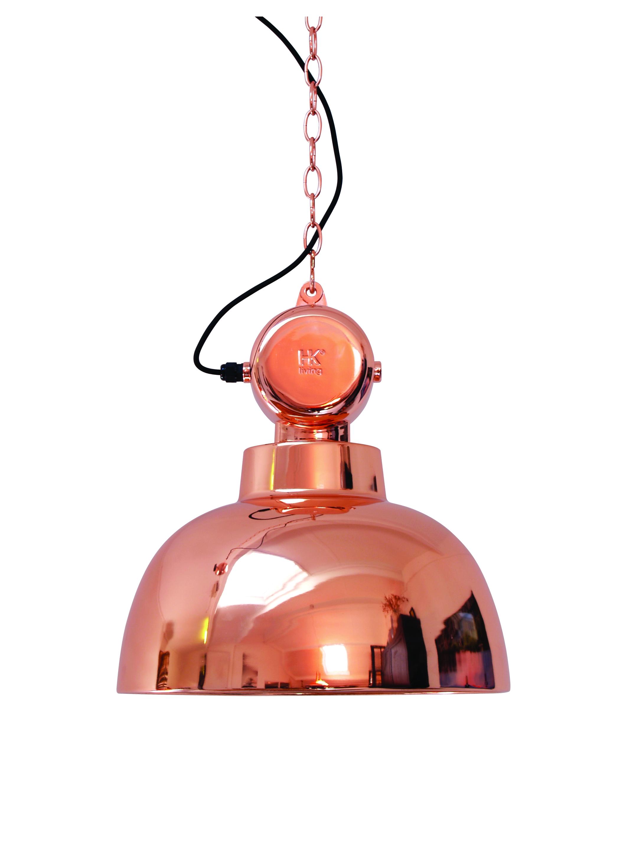Лампа FACTORYПодвесные светильники<br>Индустриальный светильник в ярком исполнении. Медь, не выходящая измоды. Черный шнур + металлическая цепь длиной 2 м.&amp;lt;div&amp;gt;&amp;lt;br&amp;gt;&amp;lt;/div&amp;gt;&amp;lt;div&amp;gt;Вид цоколя: Е27&amp;lt;/div&amp;gt;&amp;lt;div&amp;gt;Мощность: 60W&amp;lt;/div&amp;gt;&amp;lt;div&amp;gt;Количество ламп: 1&amp;lt;/div&amp;gt;<br><br>Material: Металл<br>Height см: 45<br>Diameter см: 40