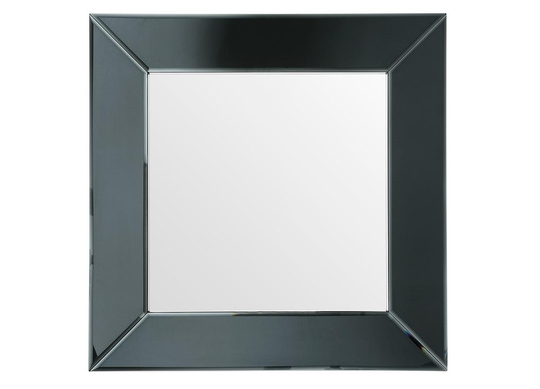 ЗеркалоНастенные зеркала<br>Зеркало Mirror Gianni в зеркальной раме черного цвета.<br><br>Material: Стекло<br>Width см: 91<br>Height см: 91