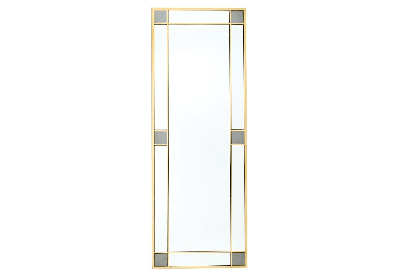 ЗеркалоНастенные зеркала<br>Зеркало Mirror Negresco в раме золотого цвета.<br><br>Material: Металл<br>Ширина см: 80.0<br>Высота см: 220.0