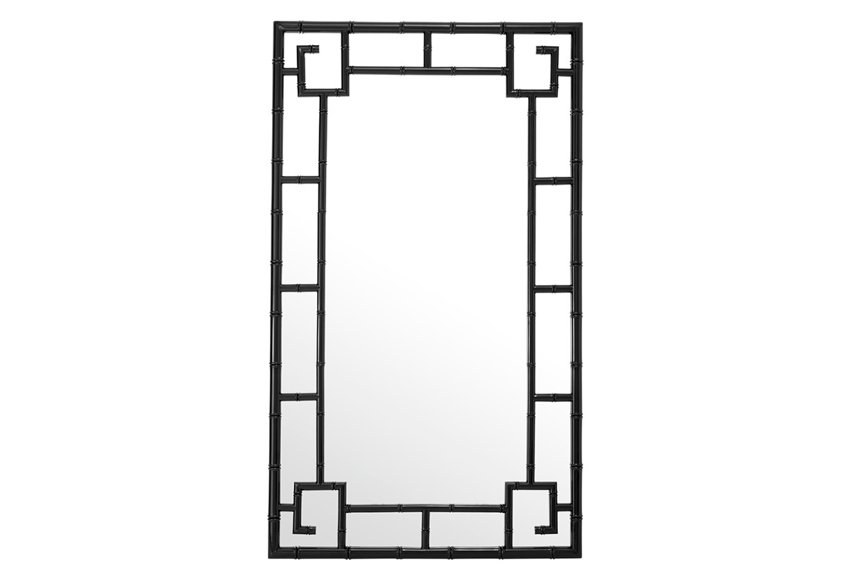 ЗеркалоНастенные зеркала<br>Зеркало Mirror San Rafael в раме черного цвета.<br><br>Material: Металл<br>Ширина см: 83<br>Высота см: 143