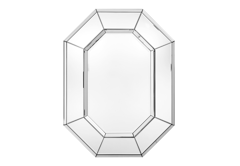 ЗеркалоНастенные зеркала<br>Зеркало Mirror le Sereno в зеркальной раме c оригинальным дизайном.<br><br>Material: Стекло<br>Width см: 80<br>Height см: 106