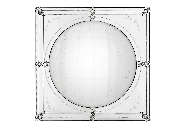 ЗеркалоНастенные зеркала<br>Зеркало Mirror Cherche состаренное в зеркальной раме.<br><br>Material: Стекло<br>Width см: 92<br>Height см: 92