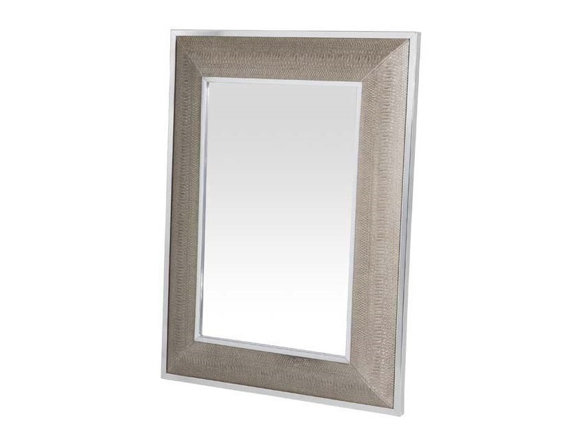 ЗеркалоНастенные зеркала<br>Зеркало Mirror Cobra в металлической раме с оттделкой &amp;amp;quot;под змеиную кожу&amp;amp;quot; бежево-кремового цвета.<br><br>Material: Металл<br>Width см: 85<br>Height см: 115