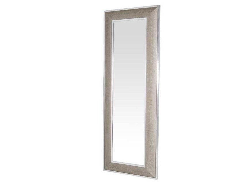 ЗеркалоНастенные зеркала<br>Зеркало Mirror Cobra в металлической раме с оттделкой &amp;amp;quot;под змеиную кожу&amp;amp;quot; бежево-кремового цвета.<br><br>Material: Металл<br>Width см: 80<br>Height см: 220