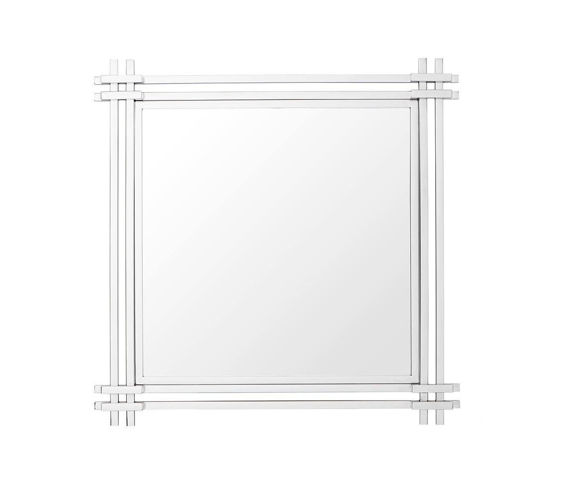 ЗеркалоНастенные зеркала<br>Зеркало Mirror Convento в раме из полированной нержавеющей стали.<br><br>Material: Сталь<br>Width см: 90<br>Height см: 90