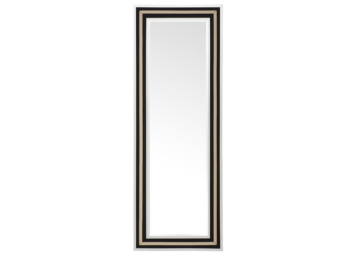 ЗеркалоНастенные зеркала<br>Зеркало Mirror Defender в металлической раме стального, черного и золотого цвета.<br><br>Material: Металл<br>Width см: 80<br>Height см: 220