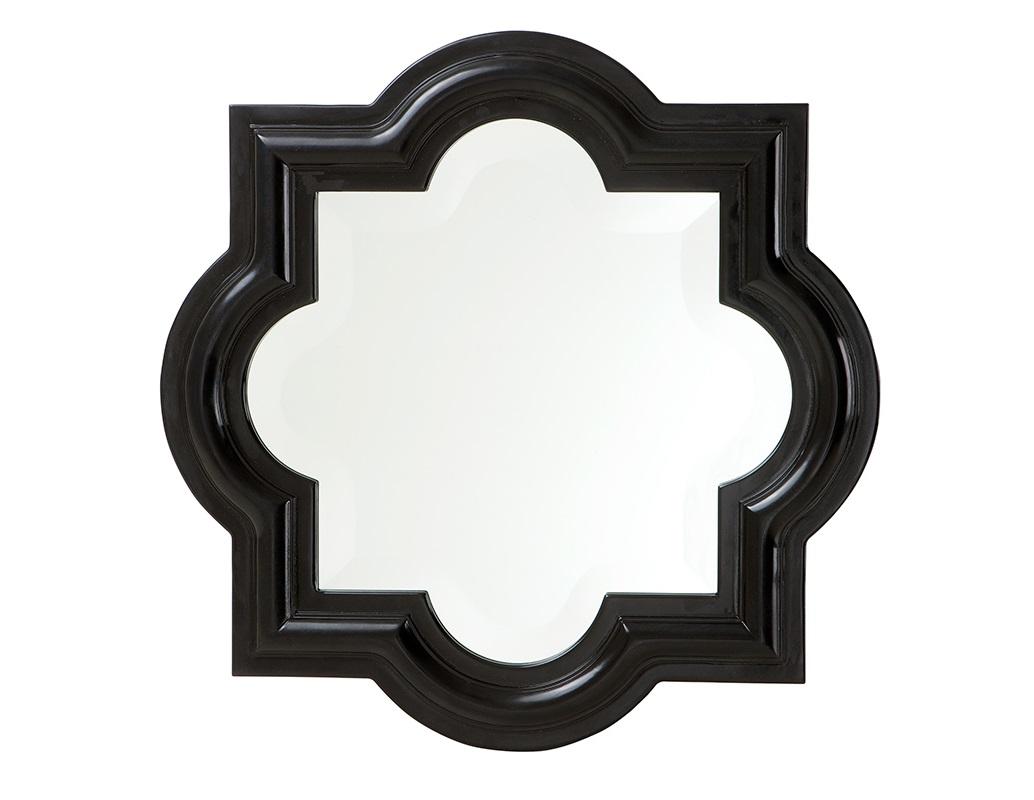ЗеркалоНастенные зеркала<br>Зеркало Mirror Dominion в деревянной выпуклой раме черного цвета.<br><br>Material: Дерево<br>Width см: 50<br>Height см: 50