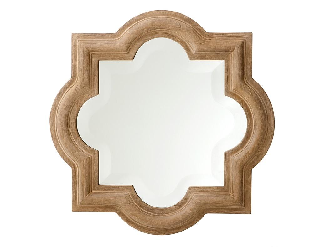 ЗеркалоНастенные зеркала<br>Зеркало Mirror Dominion в деревянной выпуклой раме бежевого цвета.<br><br>Material: Дерево<br>Width см: 50<br>Height см: 50