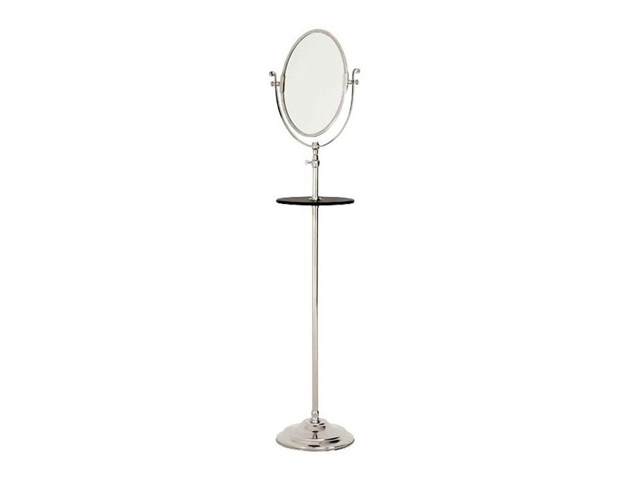 ЗеркалоНапольные зеркала<br>Напольное зеркало Floor с полочкой. Высоту зеркала можно регулировать от 160 до 220 см.&amp;amp;nbsp;<br><br>Material: Металл<br>Height см: 160<br>Diameter см: 41