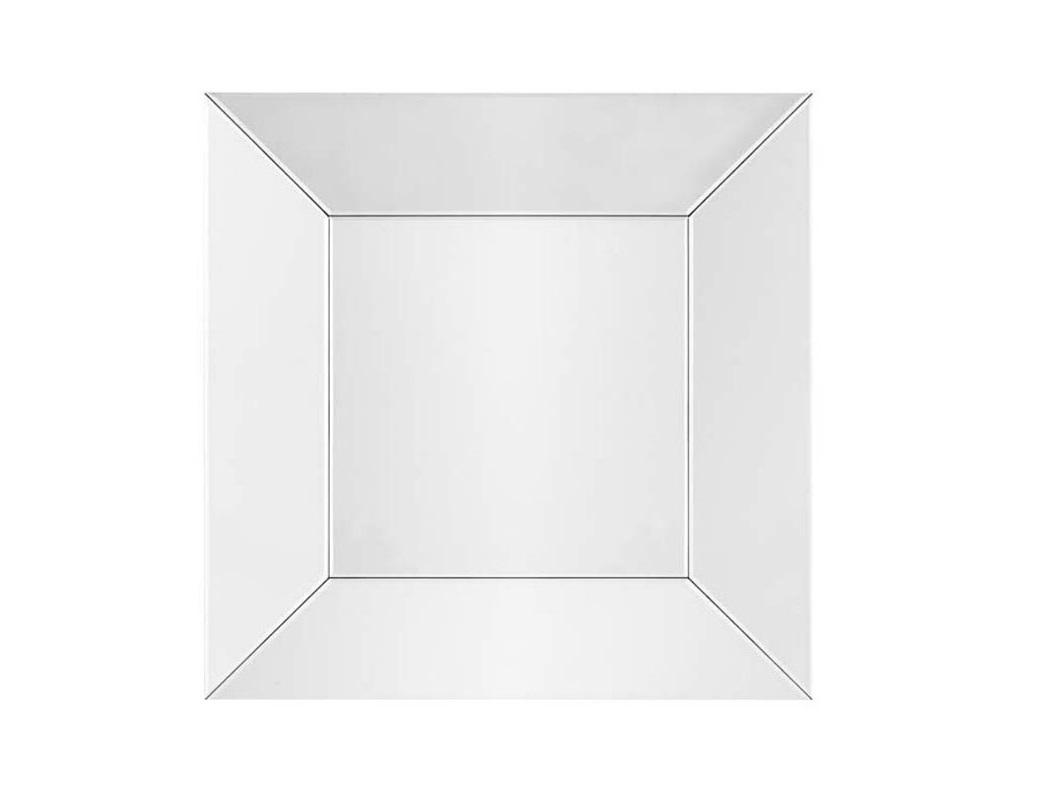 ЗеркалоНастенные зеркала<br>Настенное квадратноезеркало Mirror Glassна металлической основе с зеркальной рамой &amp;amp;#40;со скосом&amp;amp;#41; в современном стиле.<br><br>Material: Стекло<br>Width см: 100<br>Depth см: 5<br>Height см: 100