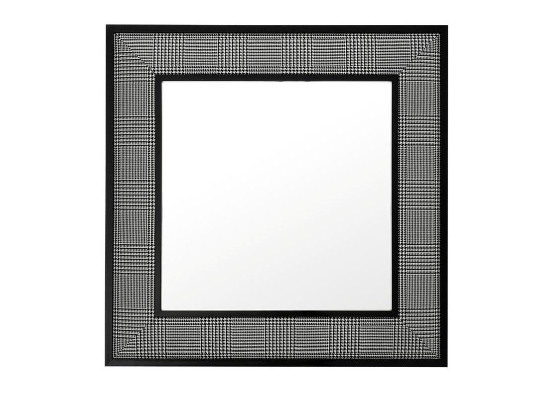 ЗеркалоНастенные зеркала<br>Зеркало Dixon в рамке из текстиля &amp;amp;#40;100&amp;amp;#37; полиэстер&amp;amp;#41; черного цвета.<br><br>Material: Текстиль<br>Ширина см: 100<br>Высота см: 100
