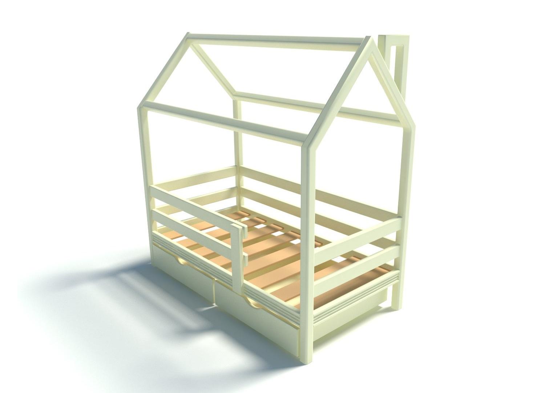 Детская кровать ИзбушкаДетские кроватки<br>Детская экологически чистая кровать.&amp;lt;div&amp;gt;&amp;lt;br&amp;gt;&amp;lt;div&amp;gt;Спальное место: 160*80 см.&amp;amp;nbsp;&amp;lt;/div&amp;gt;&amp;lt;div&amp;gt;В стоимость входит основание кровати, крепления.&amp;amp;nbsp;&amp;lt;/div&amp;gt;&amp;lt;/div&amp;gt;<br><br>Material: Сосна<br>Length см: 168<br>Width см: 87<br>Depth см: None<br>Height см: 156<br>Diameter см: None