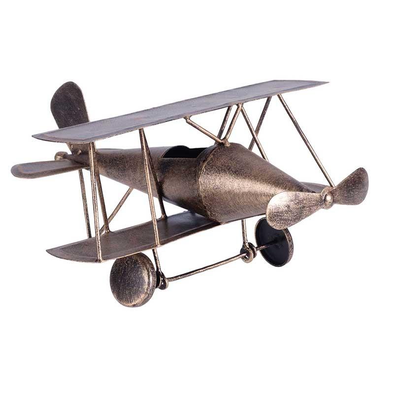 Модель аэроплан BoussacДругое<br><br><br>Material: Металл<br>Length см: 24<br>Width см: 21<br>Height см: 13