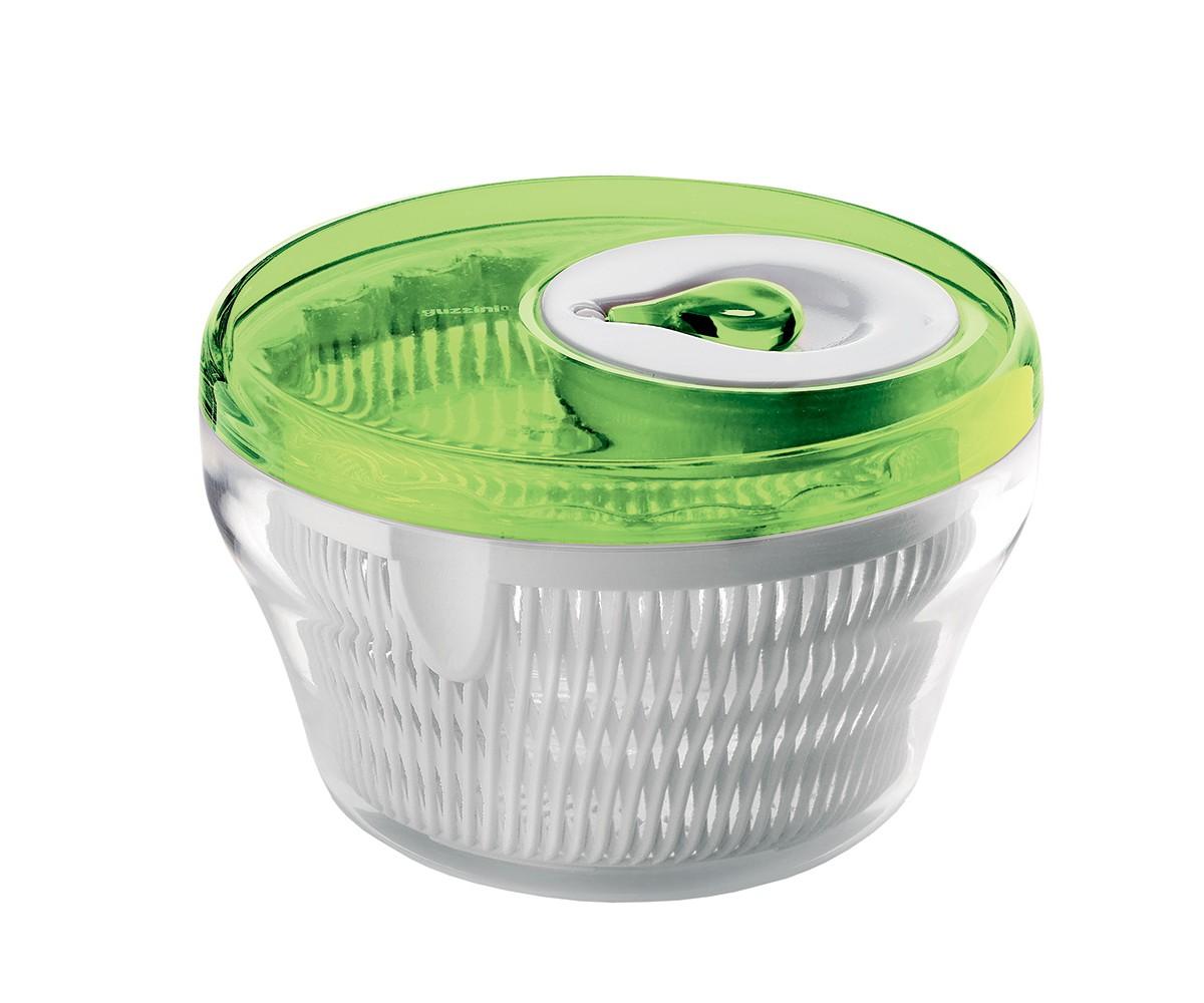 Сушилка для салата My kitchenАксессуары для кухни<br>Сушилка для салата My Kitchen состоит из крышки с крутящейся ручкой, внутреннего фильтра и контейнера. Поместите в неё только что вымытый салат и раскрутите ручку. Во время вращения вся лишняя влага осядет на дне сушилки, пройдя через фильтр. Всего несколько секунд и зелень готова к употреблению. Так же сушилка прекрасно подойдет для размораживания - вся накапливаемая влага будет стекать на дно контейнера, а продукты не будут лежать в воде. При желании контейнер можно использовать отдельно, без фильтра и крышки, для сервировки и хранения салата.&amp;amp;nbsp;<br><br>Material: Пластик<br>Height см: 28<br>Diameter см: 28