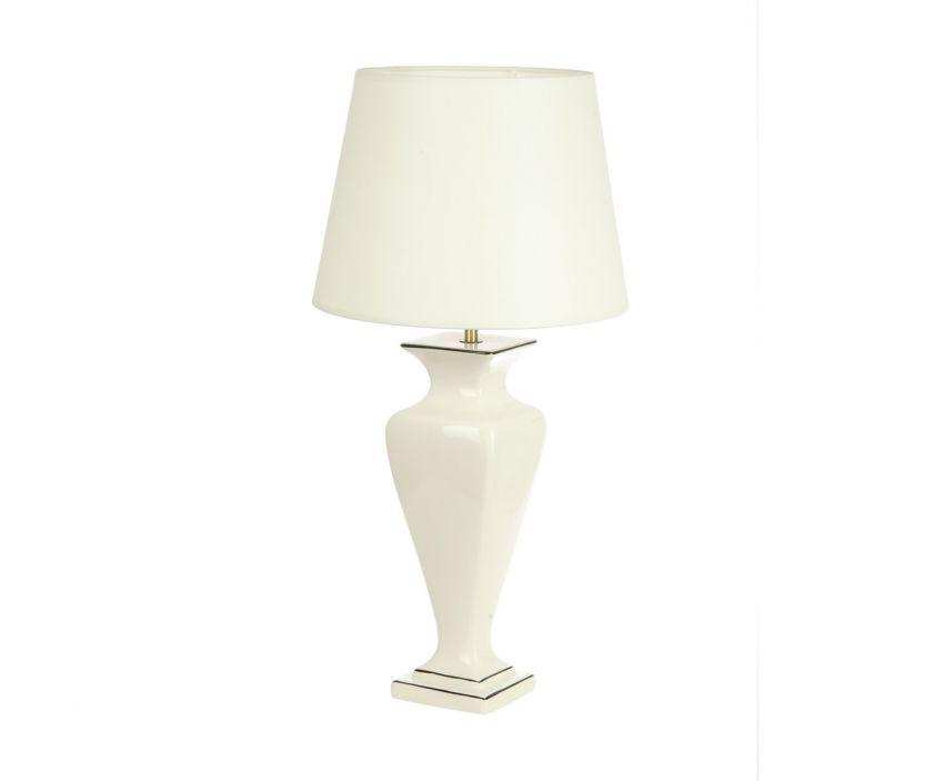 Настольная лампа PercalДекоративные лампы<br>&amp;lt;div&amp;gt;Вид цоколя: Е27&amp;lt;br&amp;gt;&amp;lt;/div&amp;gt;&amp;lt;div&amp;gt;Мощность: 60W&amp;lt;/div&amp;gt;&amp;lt;div&amp;gt;Количество ламп: 1&amp;lt;/div&amp;gt;&amp;lt;div&amp;gt;Длина шнура: 1,3 м&amp;lt;/div&amp;gt;<br><br>Material: Керамика<br>Height см: 60<br>Diameter см: 30