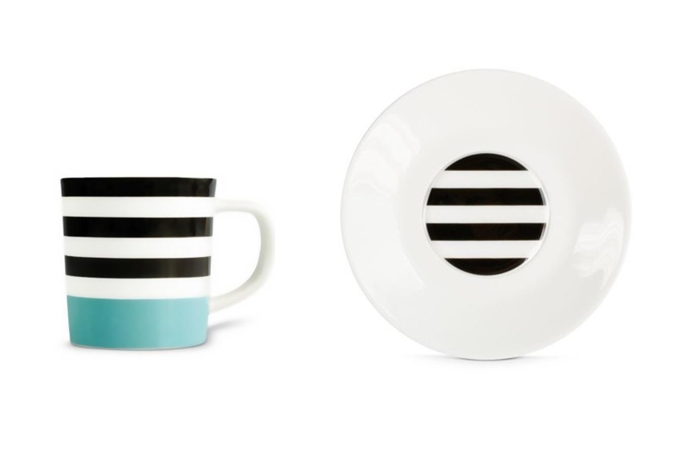 Чашка для эспрессо с блюдцем Black linesЧайные пары и чашки<br>Набор из чашки для эспрессо с блюдцем в подарочной коробке. Элегантная форма и яркие цвета добавят хорошего настроения всем любителям кофе. Отличный подарок для себя или знакомых.&amp;amp;nbsp;&amp;lt;div&amp;gt;&amp;lt;br&amp;gt;&amp;lt;/div&amp;gt;&amp;lt;div&amp;gt;Объём 75 мл.&amp;lt;/div&amp;gt;<br><br>Material: Фарфор<br>Height см: 9,2<br>Diameter см: 12,2