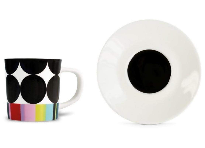 Чашка для эспрессо с блюдцем ScoopЧайные пары и чашки<br>Набор из чашки для эспрессо с блюдцем в подарочной коробке. Элегантная форма и яркие цвета добавят хорошего настроения всем любителям кофе. Отличный подарок для себя или знакомых.&amp;amp;nbsp;&amp;lt;div&amp;gt;&amp;lt;br&amp;gt;&amp;lt;/div&amp;gt;&amp;lt;div&amp;gt;Объём 75 мл.&amp;lt;/div&amp;gt;<br><br>Material: Фарфор<br>Height см: 9,2<br>Diameter см: 12,2