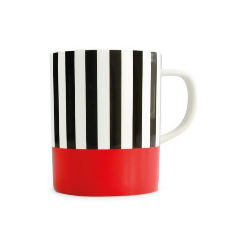 "Кружка ""Black stripes"""