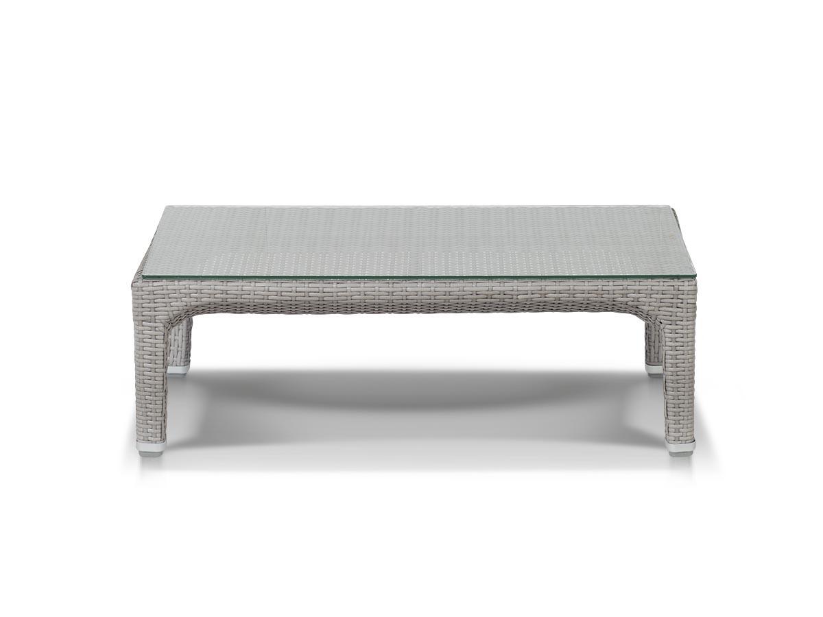 Кофейный столик ЛаброСтолы и столики для сада<br>Стеклянная столешница<br><br>Material: Искусственный ротанг<br>Ширина см: 90<br>Высота см: 45<br>Глубина см: 30