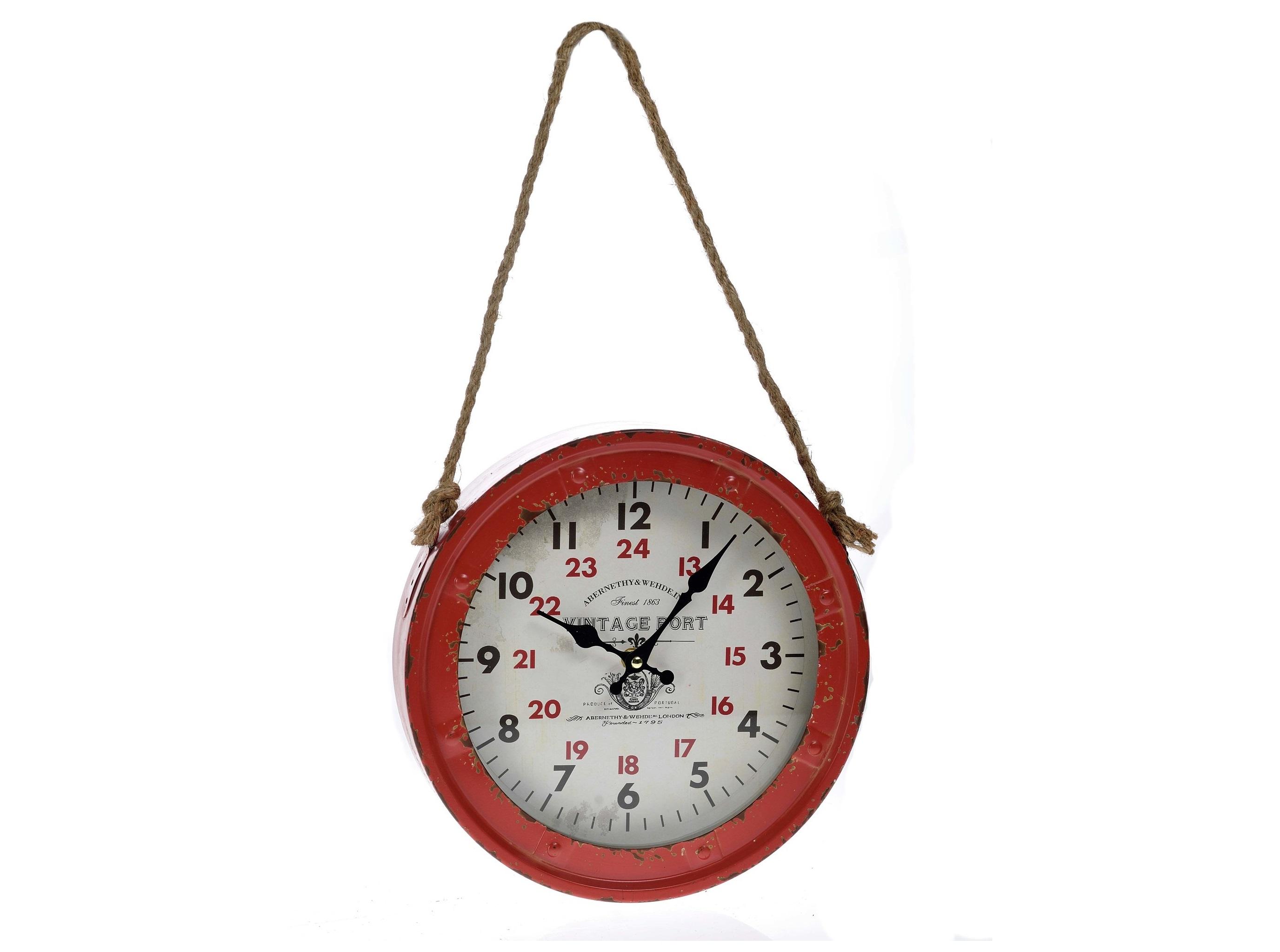 Часы настенные MidlerНастенные часы<br>кварцевый механизм<br><br>Material: Металл<br>Width см: None<br>Depth см: 7<br>Height см: 28<br>Diameter см: 28