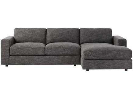 Угловой диван greisy (myfurnish) серый 250x79x158 см.