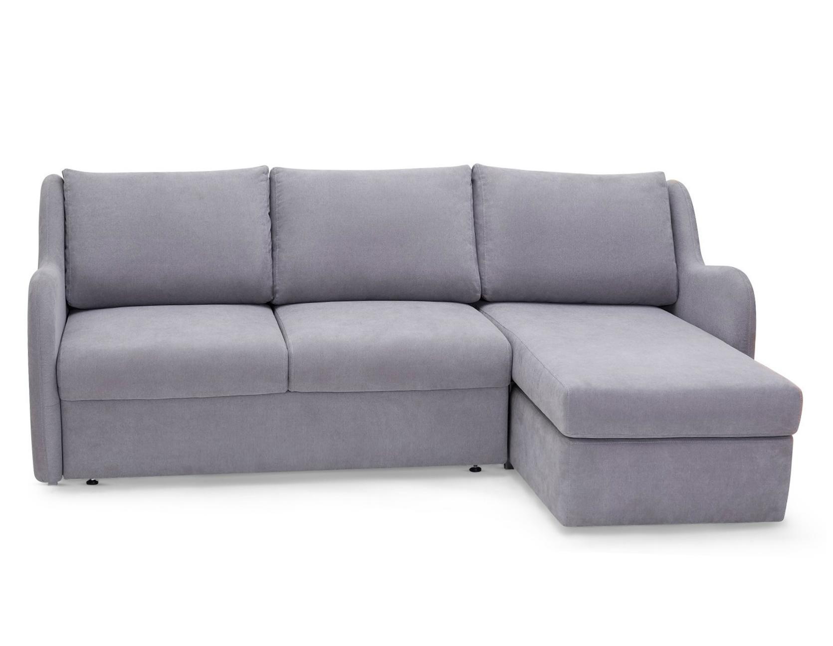 Myfurnish угловой диван-кровать universal серый  50607/50646