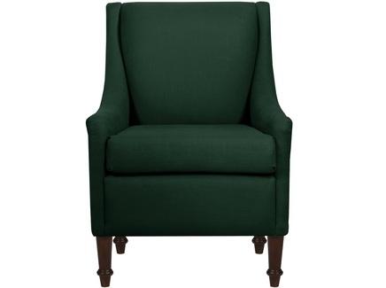 Интерьерное кресло holmes (myfurnish) зеленый 66.0x84.0x77.0 см.