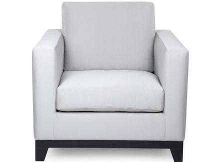 Кресло dublin (myfurnish) серый 90.0x87.0x90.0 см.