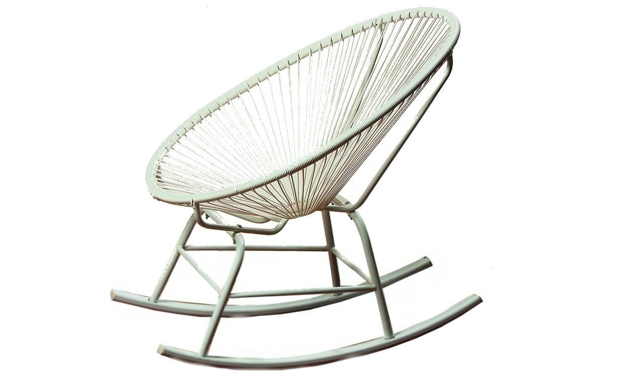 Кресло-качалка EddyКресла для сада<br><br><br>Material: Металл<br>Ширина см: 96<br>Высота см: 87<br>Глубина см: 96
