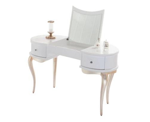 Cтолик RiminiТуалетные столики<br>&amp;lt;div&amp;gt;Этот шикарный столик создан дизайнерами компании Fratelli Barri. Задумка авторов – передать всю многогранность стиля ар-деко, процветавшего в 20-30-е годы ХХ века. Rimini – предмет, который должен именно украшать интерьер. &amp;amp;nbsp;Все в этом столике «выдает» неприкрытую роскошь и красоту. Это и плавные линии, и сусальное золото на ножках-кабриолях, и глянцевый блеск.&amp;amp;nbsp;&amp;lt;br&amp;gt;&amp;lt;/div&amp;gt;&amp;lt;div&amp;gt;&amp;lt;br&amp;gt;&amp;lt;/div&amp;gt;Оснащен встроенным зеркалом в поднимающейся части столешницы.<br><br>Material: Дерево<br>Length см: 125<br>Width см: 62<br>Height см: 76