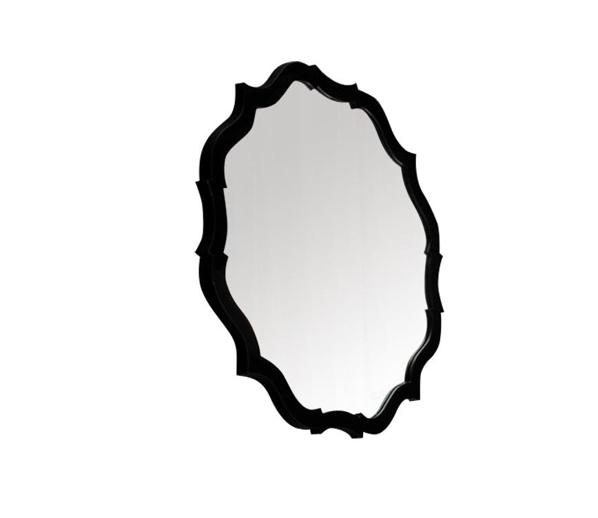 Зеркало RiminiНастенные зеркала<br>Желаете добавить налет подлинной элегантности интерьеру гостиной или холла? Сделать это с зеркалом &amp;quot;Rimini&amp;quot; чрезвычайно легко. Его изюминка ? рама необычной конструкции. Множество изломов, рожденных плавными изгибами линий, выглядят стильно и завораживают благородством традиционного американского стиля.&amp;lt;div&amp;gt;&amp;lt;br&amp;gt;&amp;lt;/div&amp;gt;&amp;lt;div&amp;gt;Варианты отделки рамы: черный или белый лак, сусальное серебро.&amp;lt;/div&amp;gt;<br><br>Material: Стекло<br>Length см: None<br>Width см: None<br>Depth см: None<br>Height см: None<br>Diameter см: 86.0