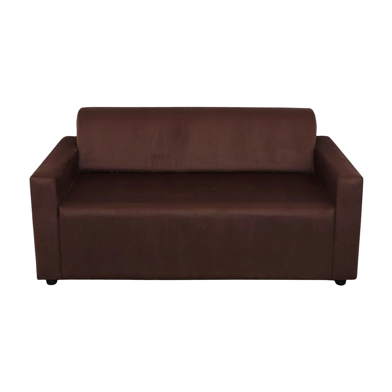 ДиванДвухместные диваны<br>Каркасный  диван оригинального дизайна станет не только выделяющимся, но и комфортным акцентом в вашем интрерьере.  Диван статнет незаменимым предметом декора или функциональной мебелью. А эксклюзивные ткани добавят изюминку в ваше пространство.<br><br>Material: Текстиль<br>Length см: None<br>Width см: 150<br>Depth см: 80<br>Height см: 65
