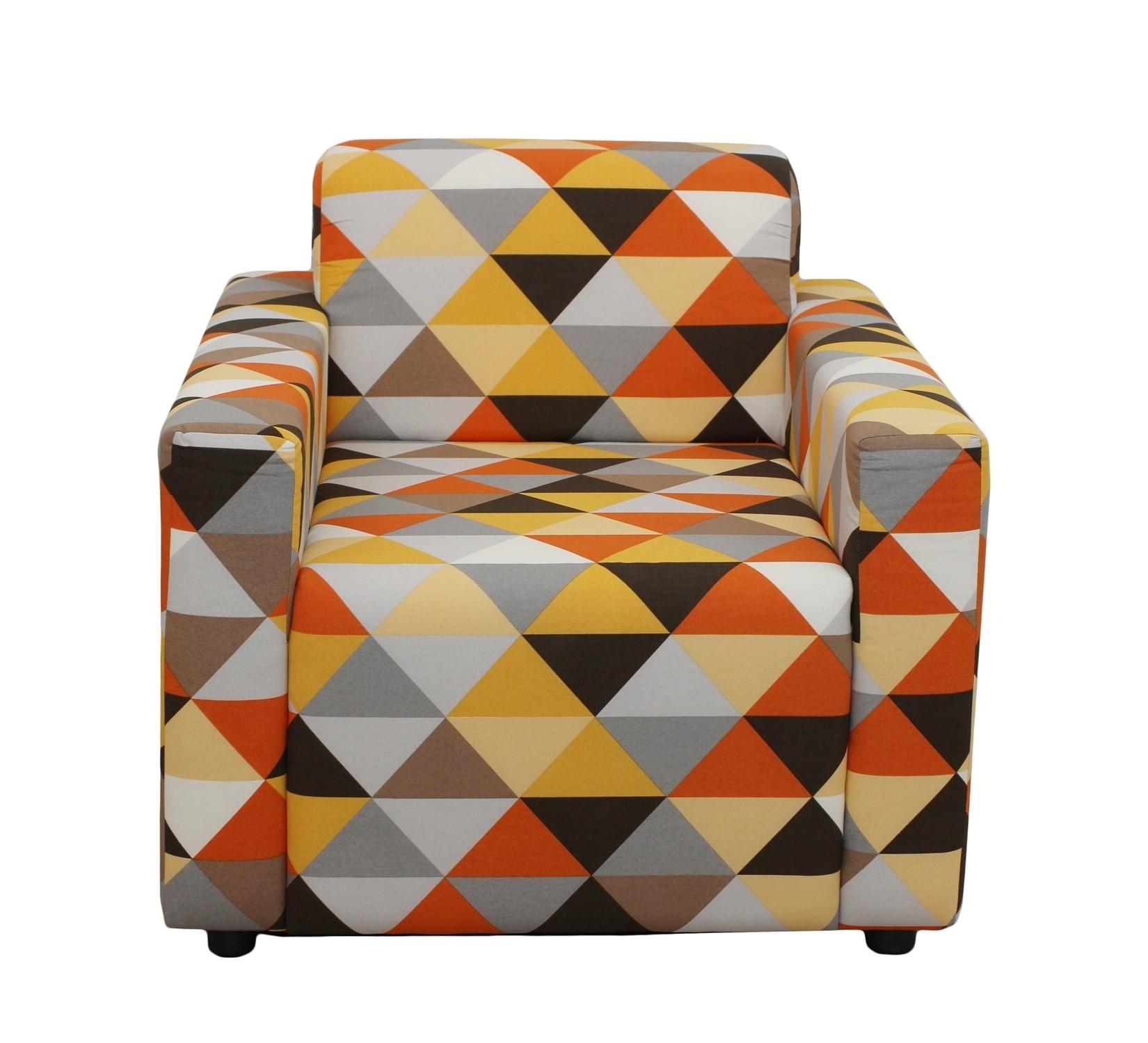 КреслоИнтерьерные кресла<br>Каркасное  кресло оригинального дизайна станет не только выделяющимся, но и комфортным акцентом в вашем интрерьере. Кресло статнет незаменимым предметом декора или функциональной мебелью . А эксклюзивные ткани добавят изюминку в ваше пространство.<br><br>Material: Текстиль<br>Ширина см: 80<br>Высота см: 65<br>Глубина см: 75